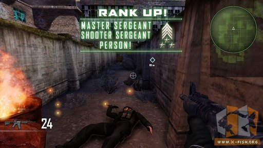 Duty Calls: »Rank Up: Master Sergeant Shooter Sergeant Person!«
