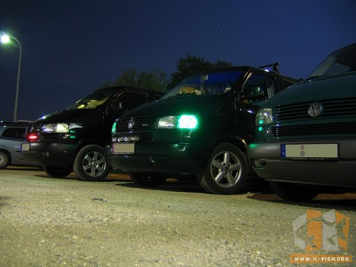 VW T4 mit LED Beleuchtung