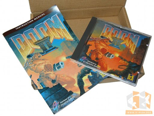 Lieferumfang Doom II (deutsche Version)