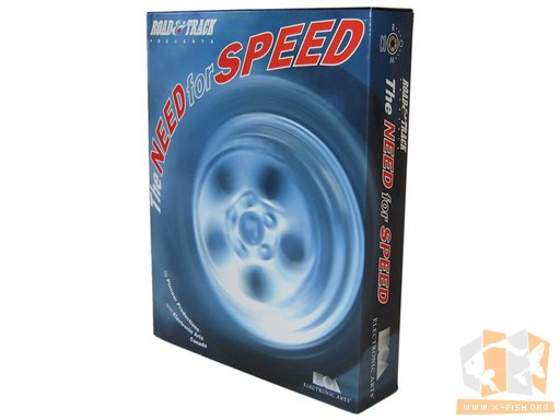 »The Need for Speed« (deutsche Verpackung)
