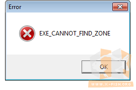 Steam: EXE_CANNOT_FIND_ZONE