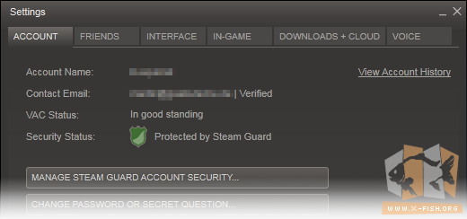 Steam Guard: Aktiv