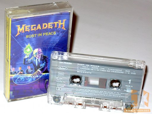 Megadeth – Rust In Peace (Tape)
