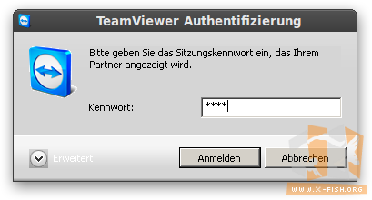 TeamViewer: Authentifizierung