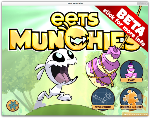 »Eets Munchies« Beta unter Linux